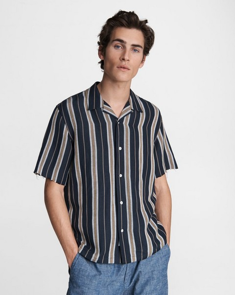 RAG & BONE Avery Linen Blend Shirt