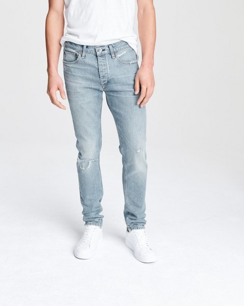 RAG & BONE Fit 1 Low-Rise - Fire Island with holes