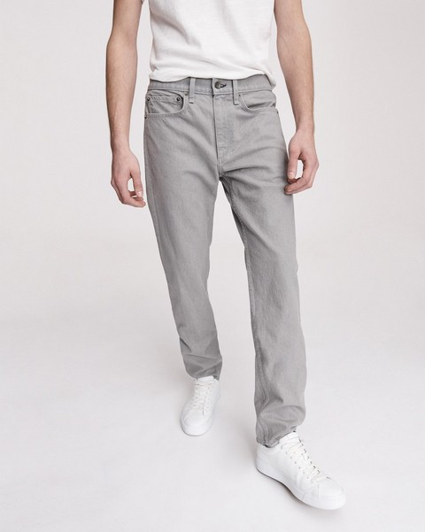 RAG & BONE FIT 2 IN LIGHT GREY - 30 INCH INSEAM AVAILABLE