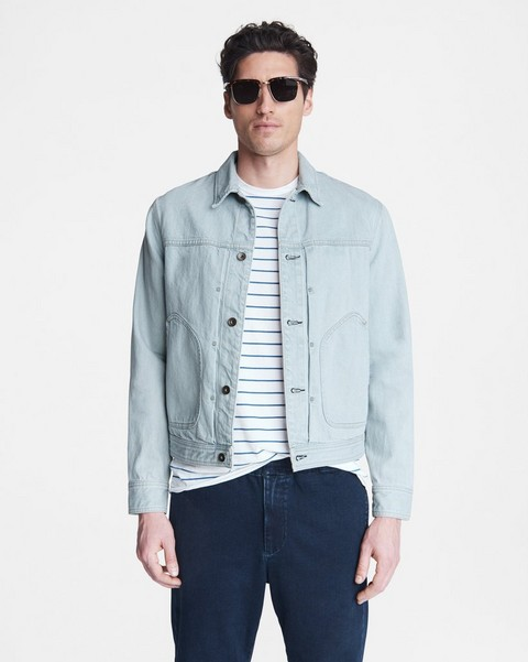RAG & BONE Cotton Hemp Shop Jacket