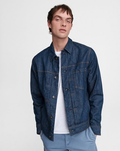 RAG & BONE Bartack Denim Jacket