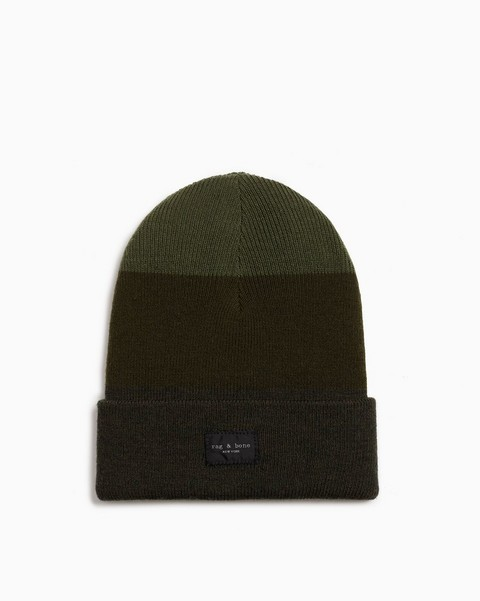 RAG & BONE Addison Striped Beanie