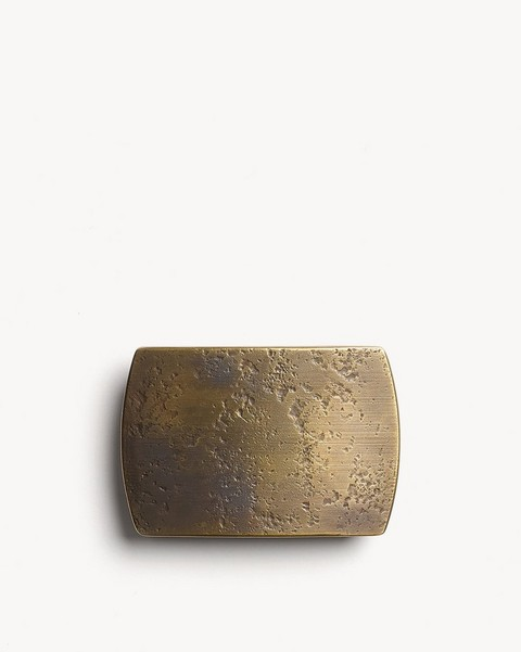 RAG & BONE BRASS BELT BUCKLE