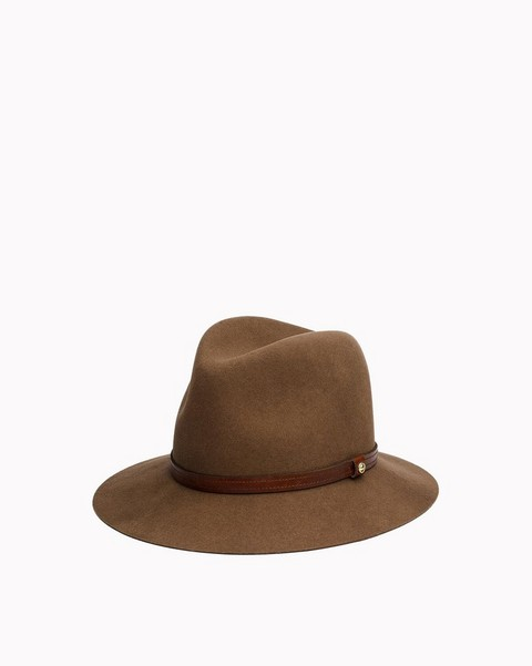 Fedoras Hats in Suede   Leather with Urban Style  d27f637e3e