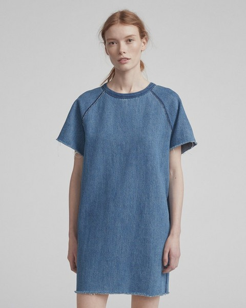 RAG & BONE DENIM TEE DRESS