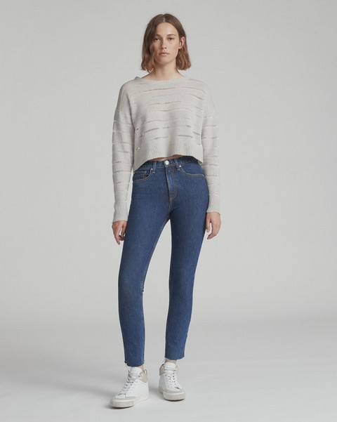RAG & BONE HIGH-RISE ANKLE SKINNY