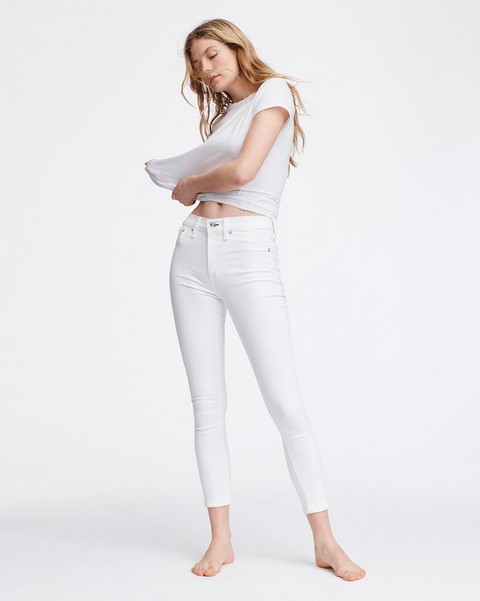 RAG & BONE NINA HIGH-RISE ANKLE SKINNY