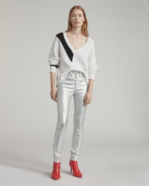 RAG & BONE HIGH RISE SKINNY