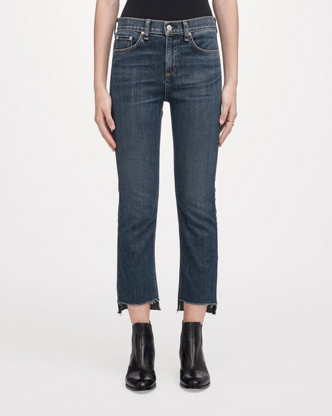 RAG & BONE Nina High-Rise Stove Pipe - Ryan