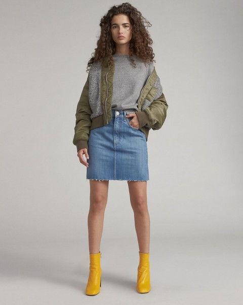 RAG & BONE MOSS SKIRT