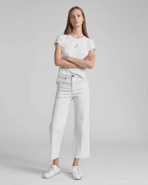 RAG & BONE ANKLE JUSTINE TROUSER WIDE LEG