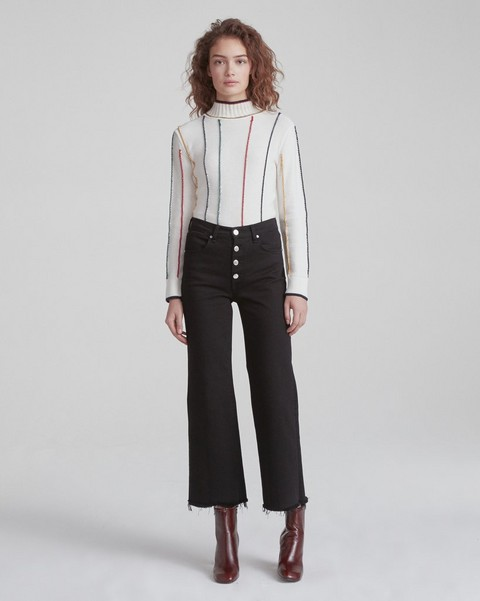 RAG & BONE ANKLE JUSTINE W/ BUTTON FLY
