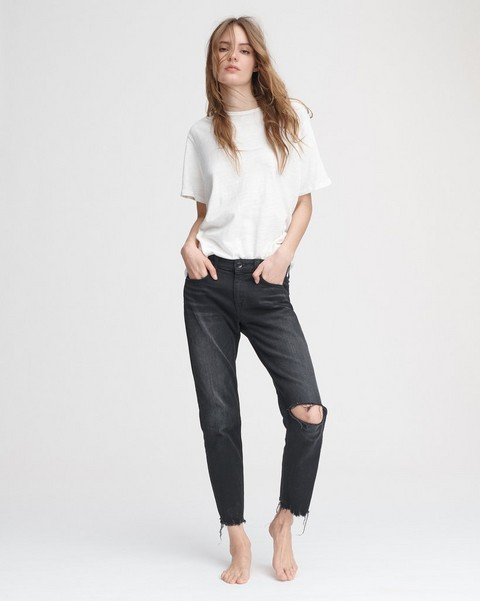 RAG & BONE DRE LOW-RISE ANKLE SLIM BOYFRIEND