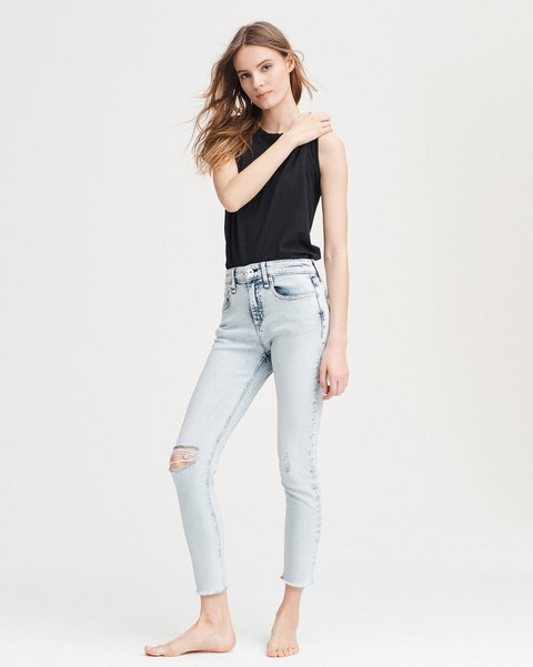 d0940bb667020 Crop Jeans  Classic High Rise Jeans in Flare