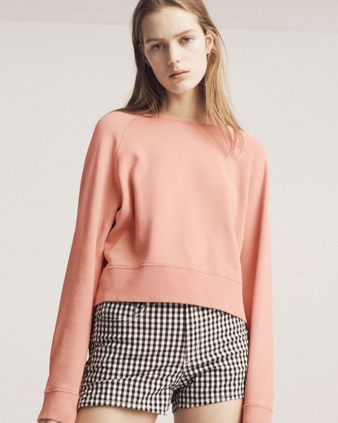 RAG & BONE RAW EDGE PULLOVER