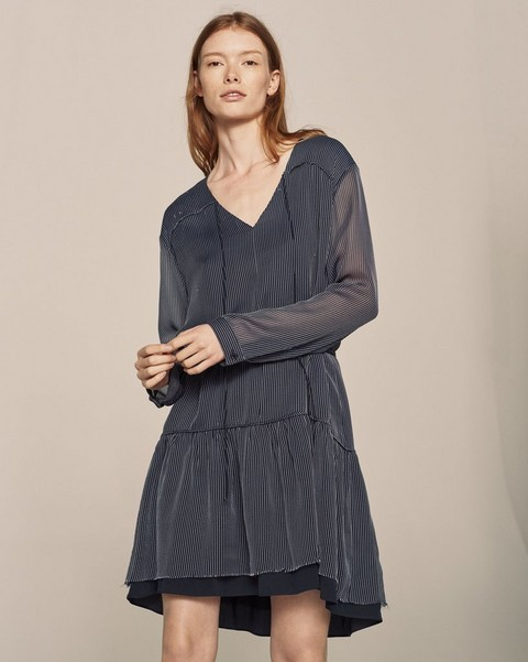 RAG & BONE BLAKE LONG-SLEEVE DRESS