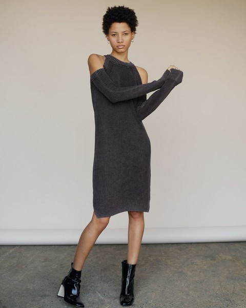 RAG & BONE DANA COLD SHOULDER DRESS