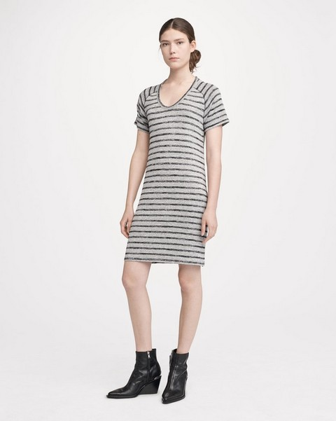 RAG & BONE RAGLAN DRESS STRIPED