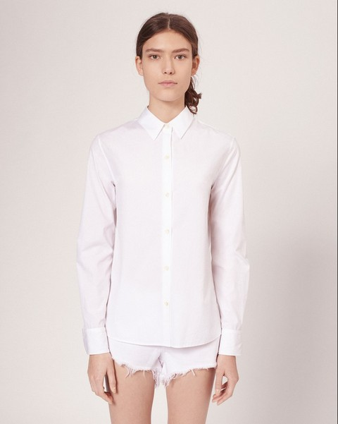RAG & BONE COTTON POPPY SHIRT