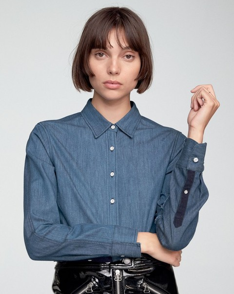 RAG & BONE DESTROYED CLASSIC SHIRT