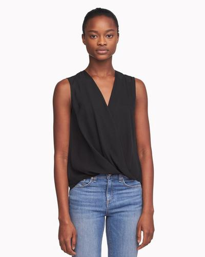 7890ff35d9e1a4 Sleeveless Victor Blouse | Women Tops & Tees | rag & bone
