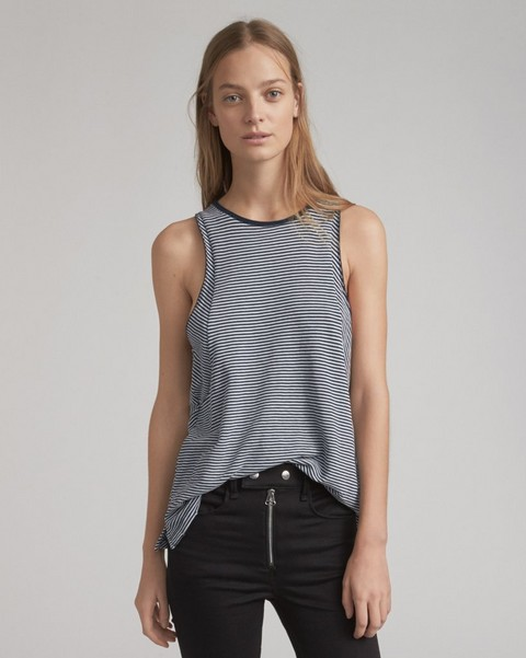 RAG & BONE STRIPED KIT TANK