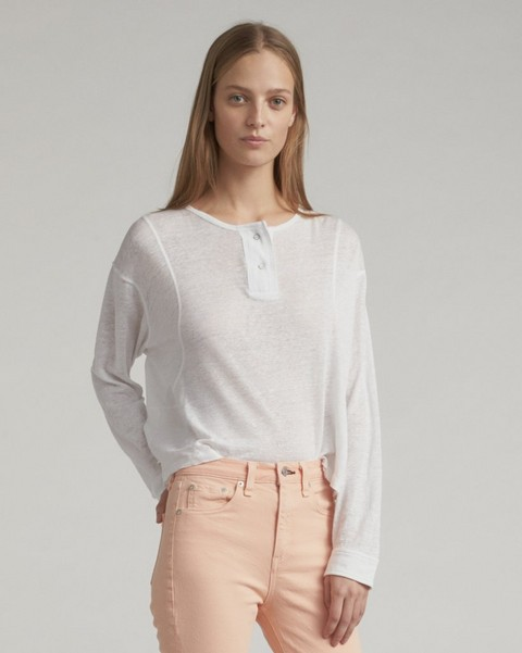 RAG & BONE LOTTIE LONG SLEEVE