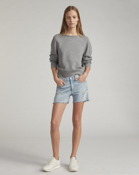 RAG & BONE THE RAGLAN SWEATSHIRT
