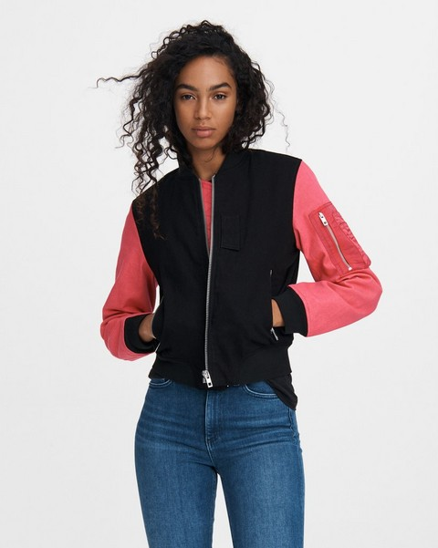 RAG & BONE DANI COTTON BOMBER