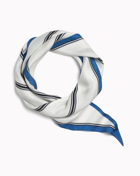 RAG & BONE NARROW SILK SCARF