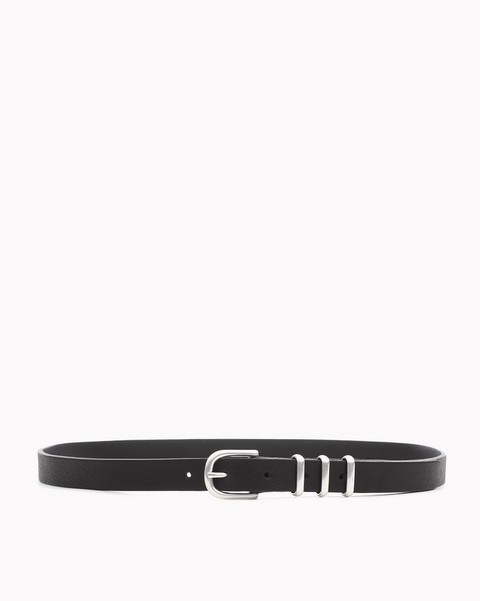 RAG & BONE Slim Jet Belt