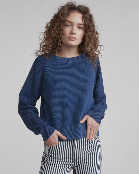RAG & BONE WHEELER COLOR-BLOCKED CREW
