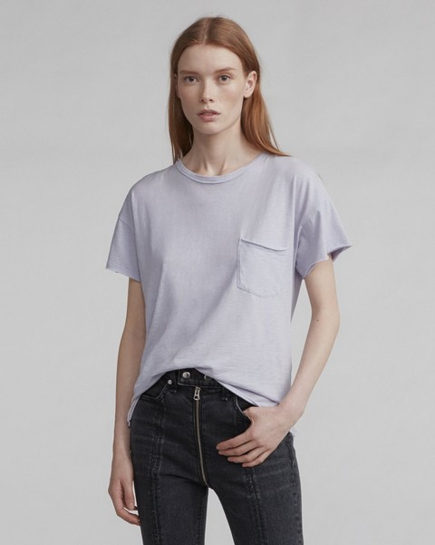 RAG & BONE VINTAGE CREW WITH POCKET