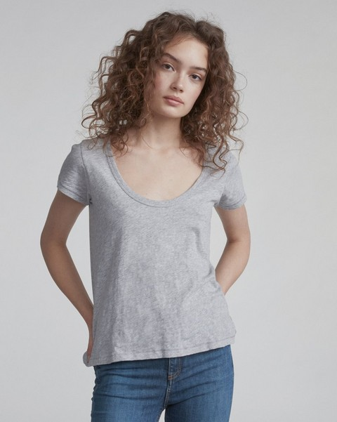 RAG & BONE U NECK TEE
