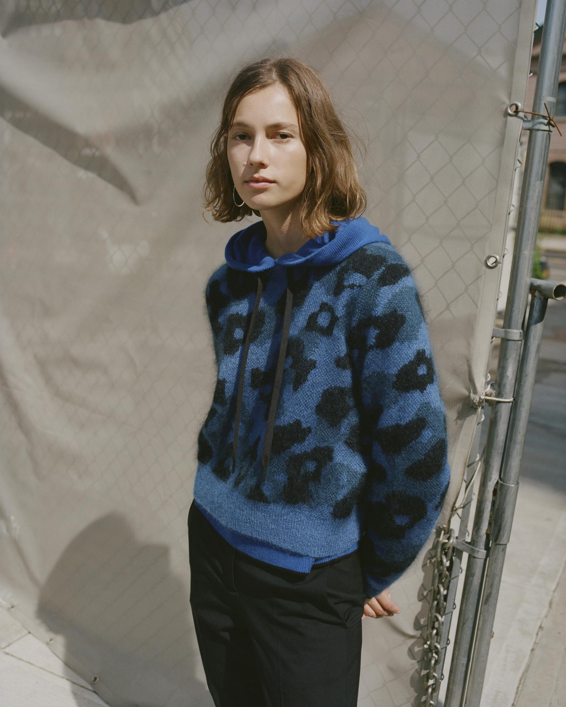 knitGrandeur: Wild Thing- Rag & Bone Leopard Crew, F/W 2018