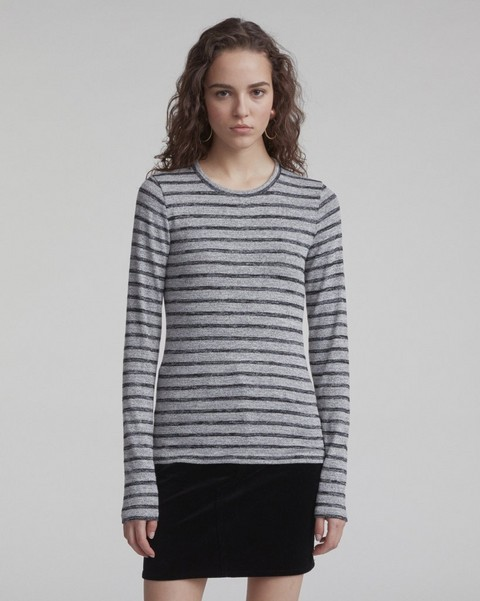 RAG & BONE STRIPED SLIM LONGSLEEVE