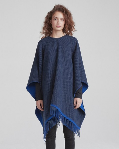 RAG & BONE DOUBLE FACE PONCHO