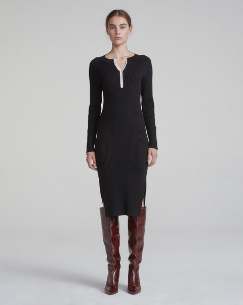 RAG & BONE BRYNN RIB DRESS