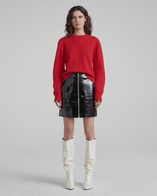 Heidi Patent Skirt by Rag & Bone