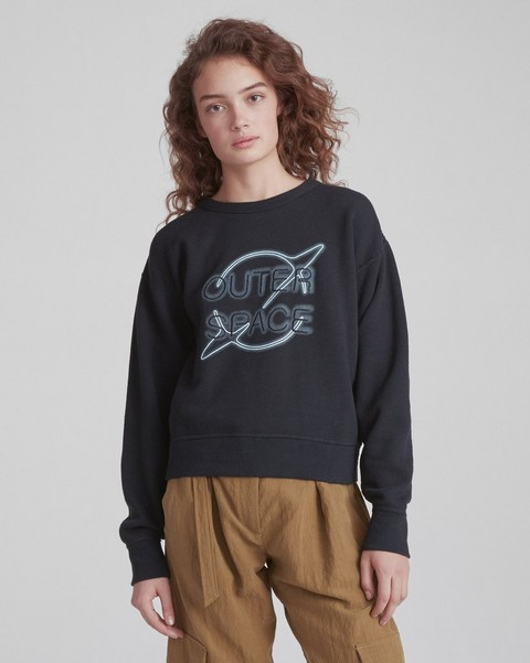 RAG & BONE OUTER SPACE SWEATSHIRT