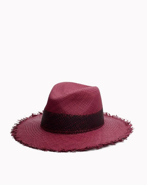 RAG & BONE FRAYED EDGE PANAMA HAT