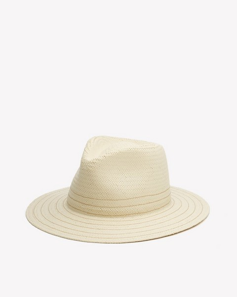 8f994066a1c72 Packable straw fedora.  225.00 · RAG   BONE ZOE FEDORA