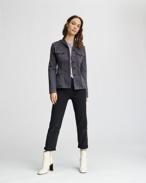 RAG & BONE GAMBLES WASHED BLAZER
