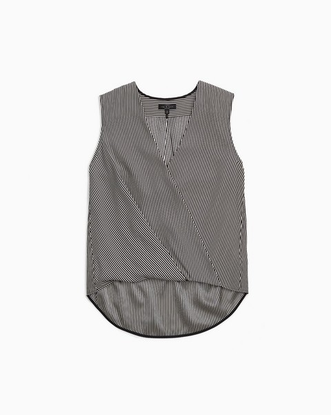 RAG & BONE VICTOR SILK BLOUSE