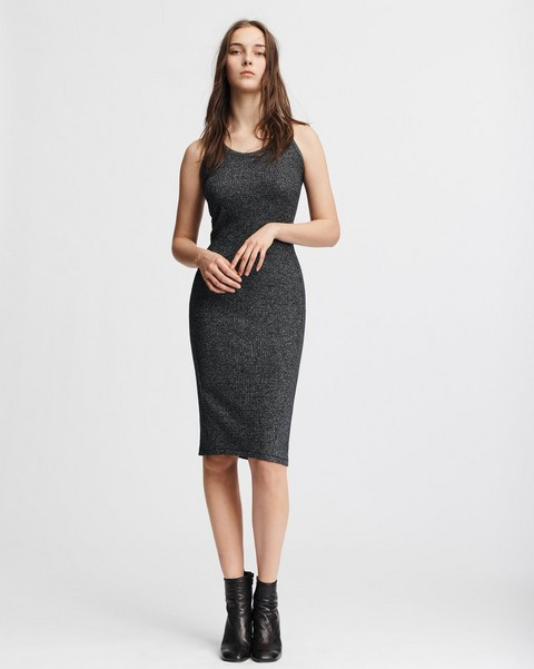 RAG & BONE CLARA TORQUED DRESS