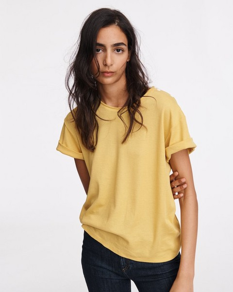 RAG & BONE MAC ROLLED SLEEVE TEE