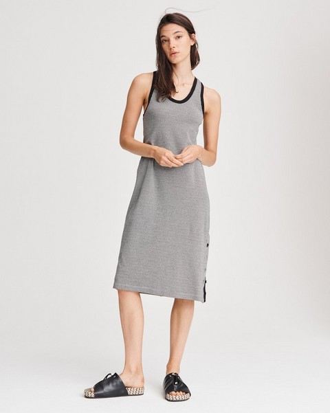 RAG & BONE MARI HOUNDSTOOTH TANK DRESS