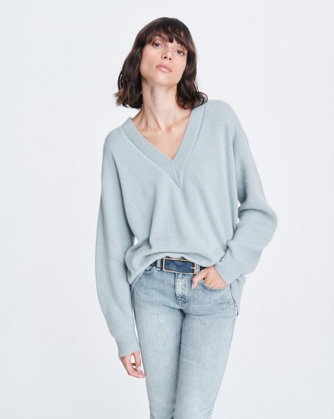 RAG & BONE LOGAN CASHMERE V-NECK