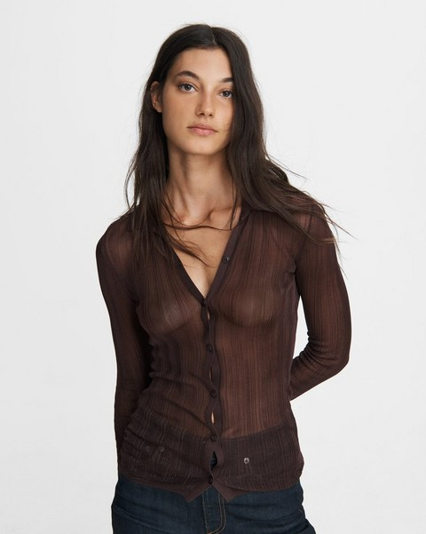 RAG & BONE Pacey Button Down Top