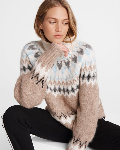 RAG & BONE Fran Alpaca Blend Turtleneck